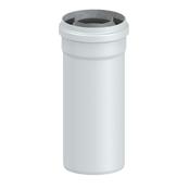 Труба коаксиального дымохода 60/100 L= 500 мм