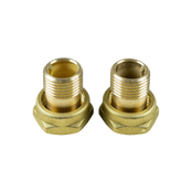 Резьбовое трубное соединение (комплект) G 1 ¼ × R 1 AG Медь