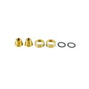 Резьбовое трубное соединение (комплект) G 1 ¼ × Rp ½ IG / R ¾ AG Латунь