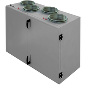 Приточно-вытяжная установка с пластинчатым рекуператором SHUFT CAUP 800VEL-A