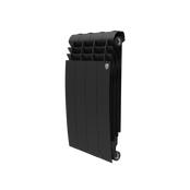 Радиатор биметаллический Royal Thermo BiLiner 500 Noir Sable - 4 секции