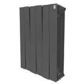 Радиатор биметаллический Royal Thermo PianoForte 500 Noir Sable - 6 секций
