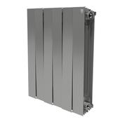 Радиатор биметаллический Royal Thermo PianoForte 500 Silver Satin - 4 секции
