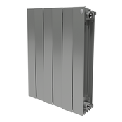 Радиатор биметаллический Royal Thermo PianoForte 500 Silver Satin - 6 секций
