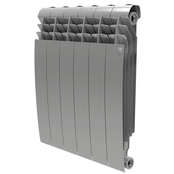 Радиатор биметаллический Royal Thermo BiLiner 500 Silver Satin - 4 секции