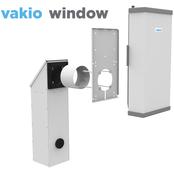 Приточно-вытяжная установка с рекуперацией тепла VAKIO WINDOW