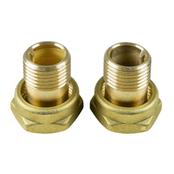 Трубное соединение для пайки (комплект) G 1 ½ × 28 мм Латунь